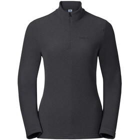 Odlo Roy 1/2 Zip Midlayer Herren shale grey-black stripes